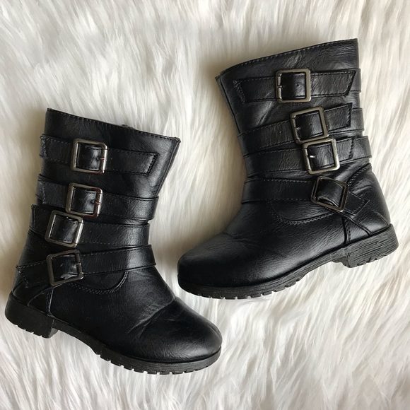 Josmo Shoes | Toddler Girls Black Boots